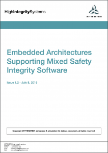 Mixed Safety Integrity Level White Paper