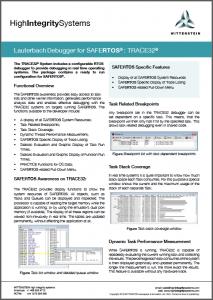 RTOS debugger Datasheet image